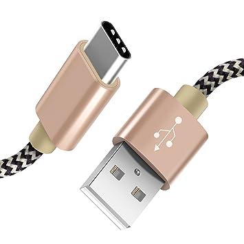 Froggen - Cable de carga USB C (2 unidades, 2 m), USB