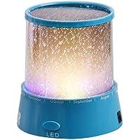 Kacowpper ¡ Proyector Caliente de la Venta de la Navidad romántico Cosmos Star Master LED lámpara luz Noche Regalo púrpura