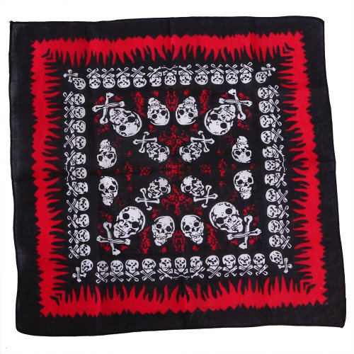 HDE Cotton Double Bandana Handkerchief