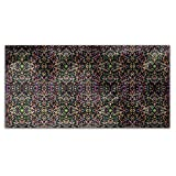Confetti On Mirrors Rectangle Tablecloth: Medium Dining Room Kitchen Woven Polyester Custom Print