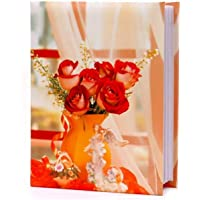 Natraj Memo Photo Album with 0.6mm Thick Extra Clear PVC Film, 200 Pockets, (Photo Size Supported: 4'x6')