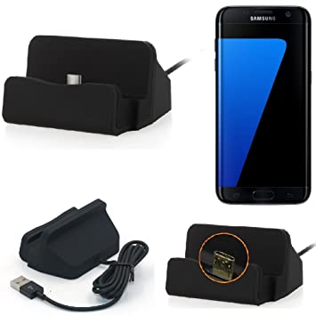 K-S-Trade Base de Carga para Samsung Galaxy S7 Edge Micro ...