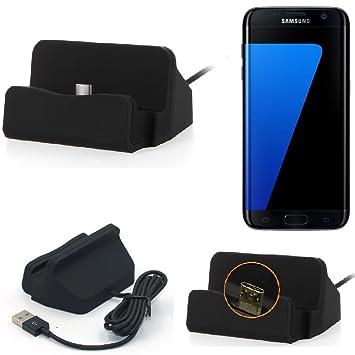 K-S-Trade Base de Carga para Samsung Galaxy S7 Edge Micro ...