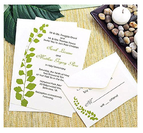 Botanical Green Printable Invitation Kit