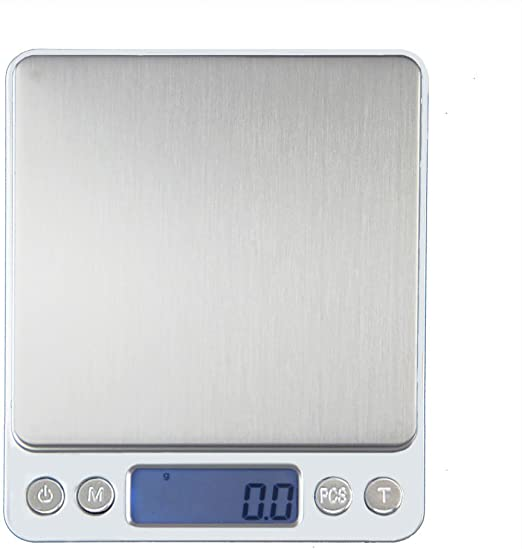 0.1G-3000G Mini Electronic Digital Pocket Gold Jewellery Weighing Kitchen Scales
