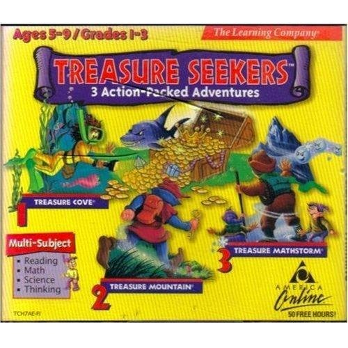 Treasure Seekers: Reading - Math - Science - Thinking Grades 1-3 (For PC / Mac)