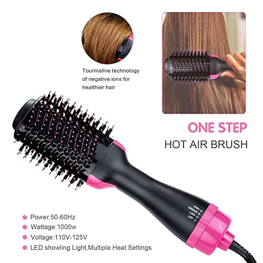 Amazon.com : Hair Dryer and Volumizer, Cocohot 3 in 1 Hair Straightener Curling Iron and Straightening Hair Dryer Brush, Reduce Frizz and Static : Beauty