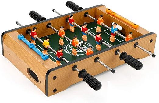 RUIXFFT Baby Foot, Table Baby Foot, Foosball Table Football Game, Baby Foot Table Juego de fútbol de Madera con Accesorios, A: Amazon.es: Deportes y aire libre