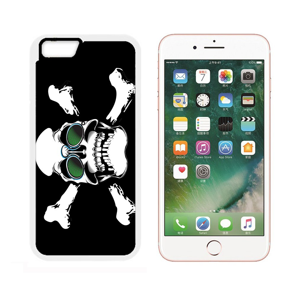 Amazon Case For Iphone 6sprinting On T Shirt Skull Glasses
