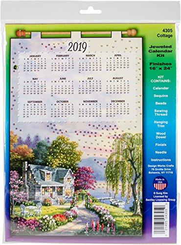 Felt Needlepoint (Cottage 2019 Felt Calendar)
