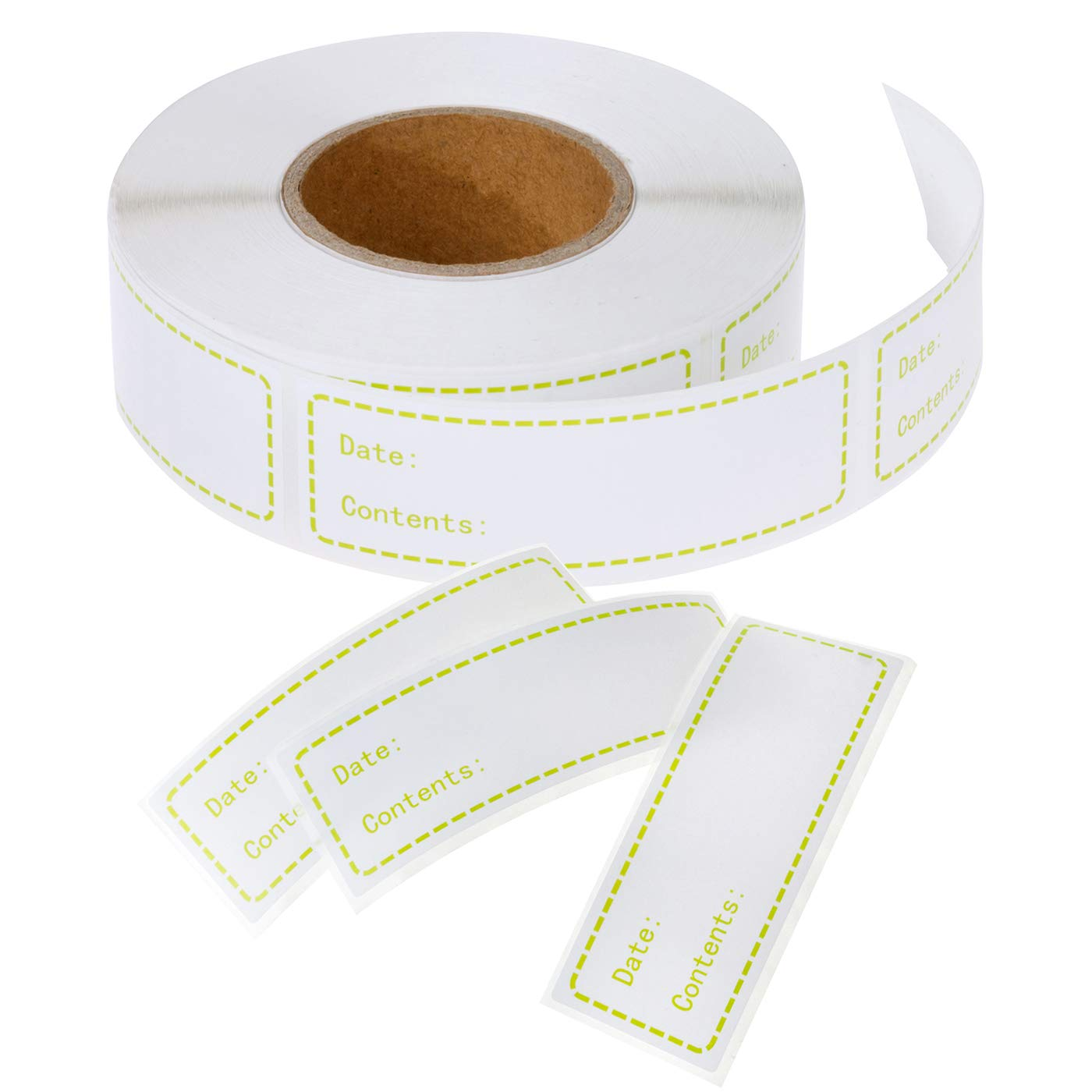 Salare - 500 etiquetas para congelador extraíbles, fáciles de ...