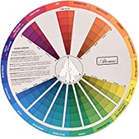 shamjina Professional Color Mixing Guide Wheel for Paint Matching Pigment Blending