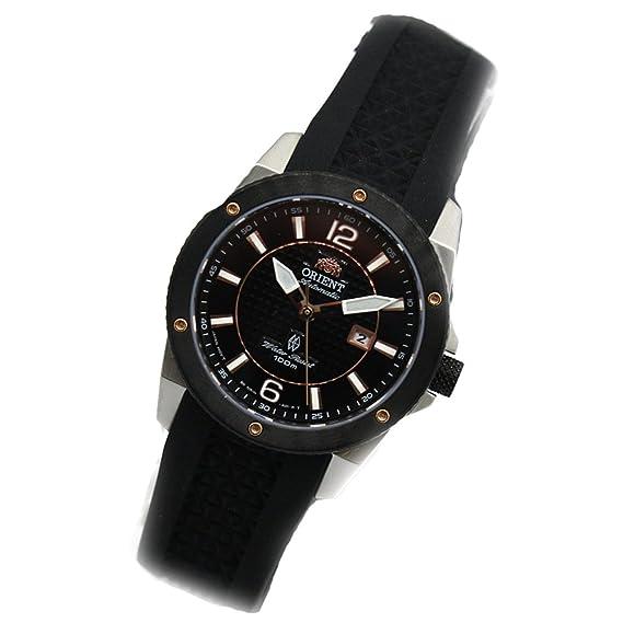 Orient fnr1h002b0 - Reloj de pulsera de mujer, correa de caucho color negro: Amazon.es: Relojes