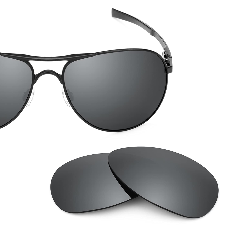 30557da736 Revant Polarized Replacement Lenses for Oakley Plaintiff Black Chrome  MirrorShield at Amazon Men s Clothing store