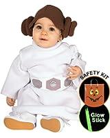Princess Leia Tm Infant/toddler Halloween Trick or Treat Safety Kit