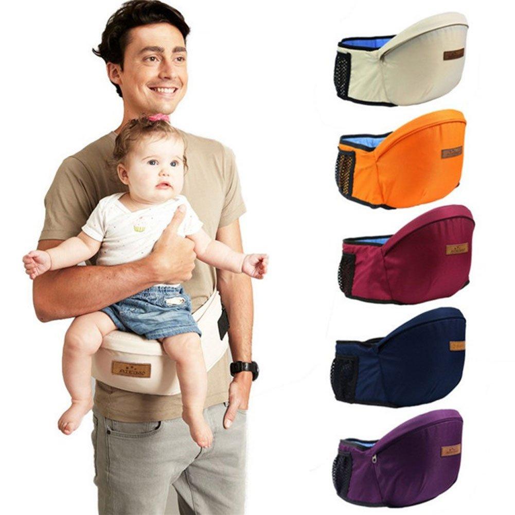 /Écharpe de si/ège ergonomique Sac /à dos portable pour b/éb/é Respirant R/églable Multifonction