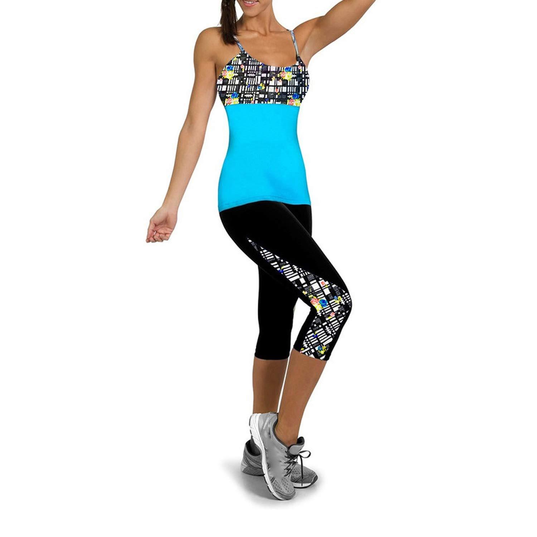 Amazon.com: Women Yoga Pants Sports Yoga Fitness Leggings ...