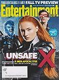 Entertainment Weekly May 27, 2016 X-Men:Apocalypse Cover #4 Nicholas Hoult (Beast); Sophie Turner (Jean Grey); Tye Sheridan (Cyclops)