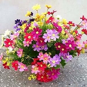 Artificial Flowers Living Room &artificial Plants 6 Colors 3Pcs /Lot Factory 28