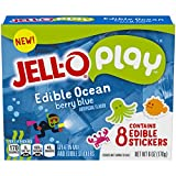 JELL-O Play Edible Ocean, 6 oz (Pack of 24)