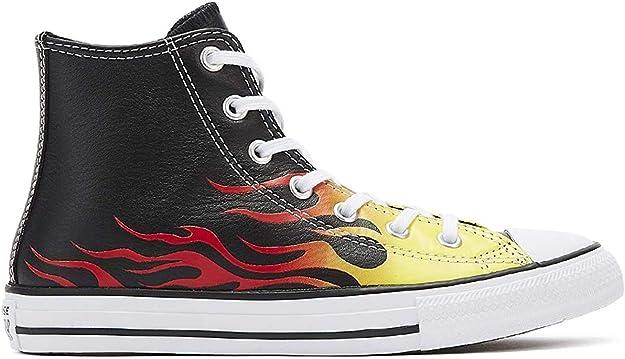 Converse Ct As Sp Hi YTH Blk Mono Chaussures de fitness