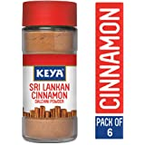 Keya Pure & Natural Sri Lankan Cinnamon Powder with Genuine Source Certification,Pack of 6, 300G(50 x 6 = 300)