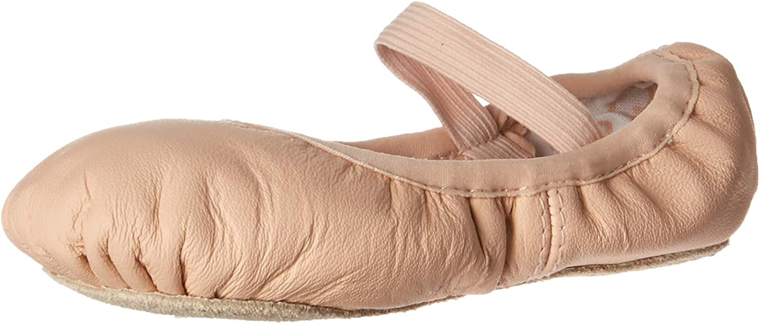 box Slip on elastic slippers shoes ballet Sizes 12 Kids to 4 Various colours