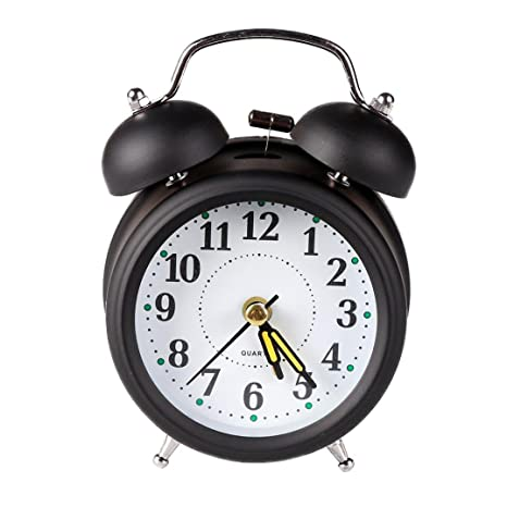STRIR Classic Bell Alarma Silencio Reloj Despertador Twin ...