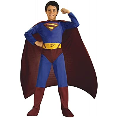 Superman Returns Child's Costume, Large: Toys & Games