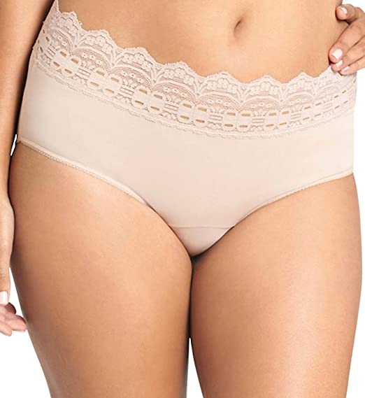 7925de94432 Olga Secret Hug Scoop Hipster Panty (913) 10 French Toast at Amazon Women s  Clothing store