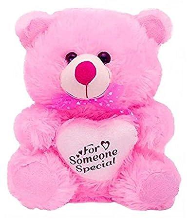 Agnolia Soft Toy Pink Teddybear - 30 cm