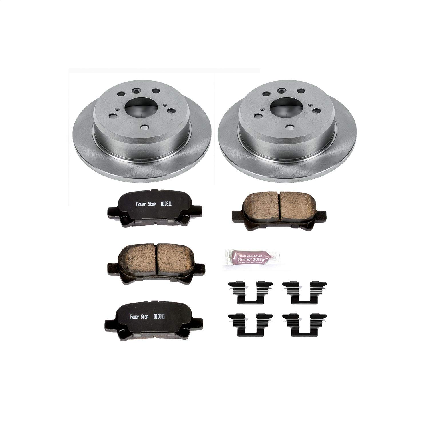 Autospecialty KOE2417 1-Click OE Replacement Brake Kit