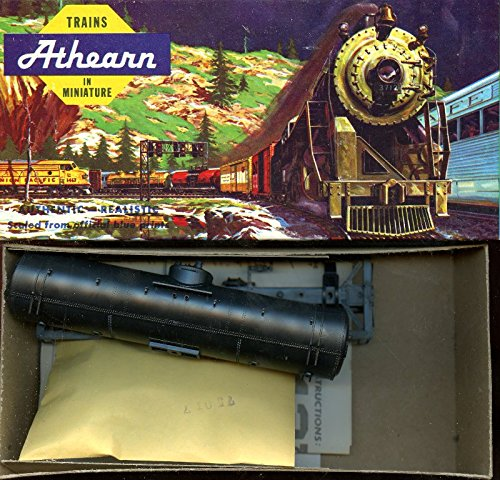 Athearn 1:87 HO Scale 40 FT Single Dome Tank Undecorated Plastic Model Kit #1570