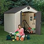 IFETIME-6405-Storage-Shed-with-1-Window-Desert-Sand-8-x-10-ft