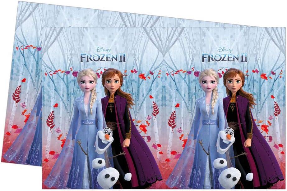 00262 Multicolor Folat B.V. Folat Paquete tem/ática de Frozen 2-Perfecto para Fiestas