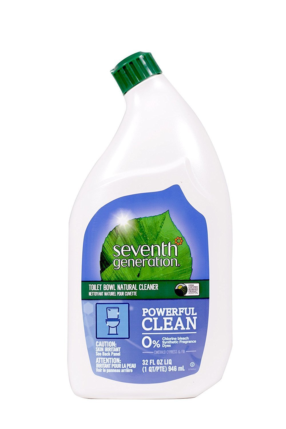 Seventh Generation - Toilet Bowl Cleaner, Emerald Cypress and Fir Scent - 32 Ounces (2 Pack) by Seventh Generation