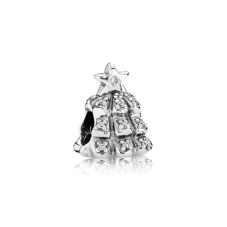 Pandora 791239CZ Silver Charm Christmas Tree: Pandora: Amazon.co ...