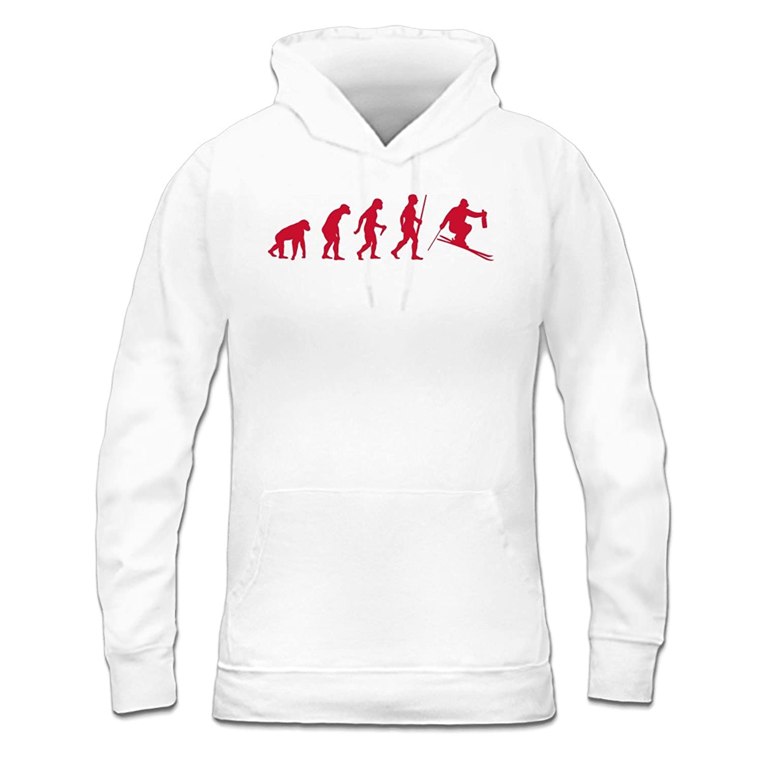 Après Ski Evolution Frauen Kapuzenpullover by Shirtcity