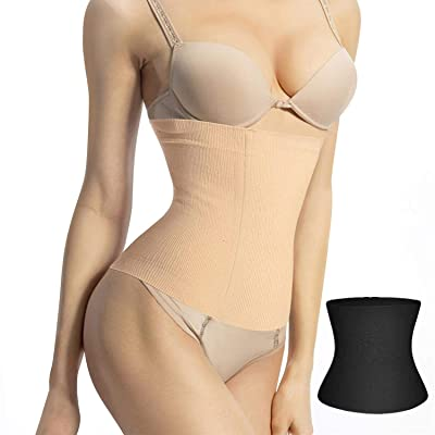 Postpartum Shapewear Trainer Breathable C Section Recovery Control Belt Binder Waist Cincher at Women's Clothing store