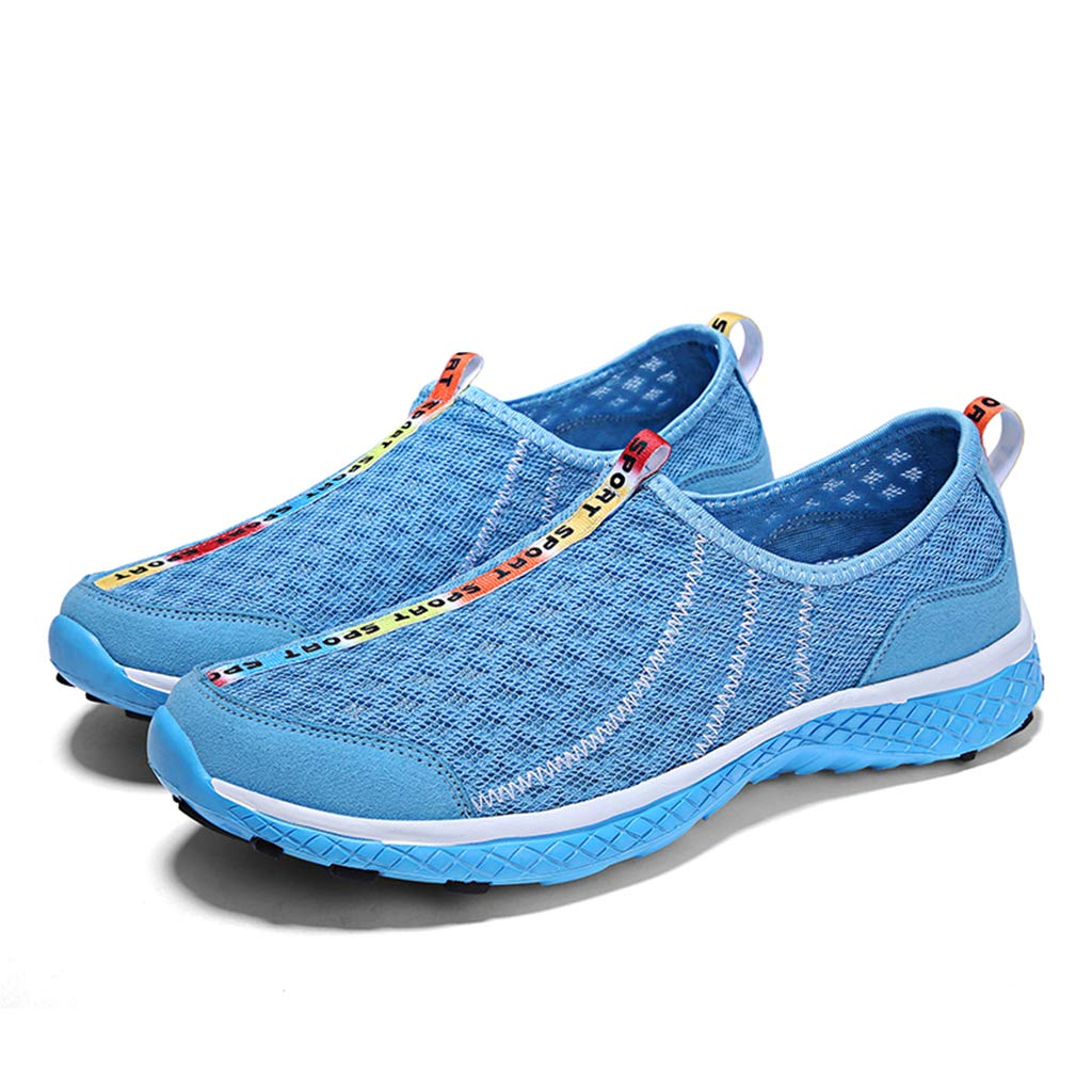 3 Upstream shoes Unisex Spring Breathable mesh Swimming Wading shoes Quick Drying Non-Slip Beach Barefoot Soft Water shoes