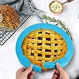 AOMGD 2pcs Adjustable Pie Crust Protector Shield
