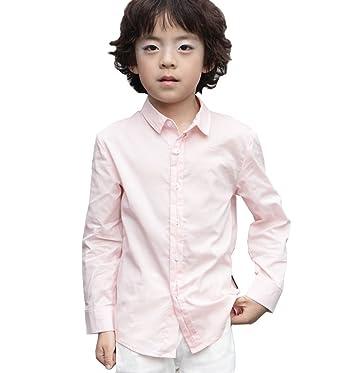 a06ec0e307113 NABER enfants Mode garçon boutonné pour chemises pour tenue de soirée de  fête de mariage 4