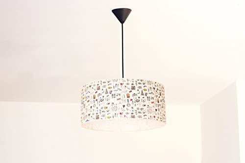 Lámpara colgante Barcelona XXL: Amazon.es: Handmade