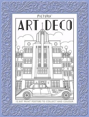 Pictura Prints: Art Deco Patterns: Posters ebook