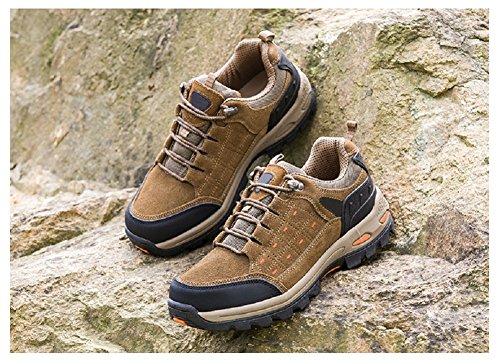 Hanxue Waterproof Men Trail Running Shoes Men Hiking Women's shoes Grey rqrxWnBEa