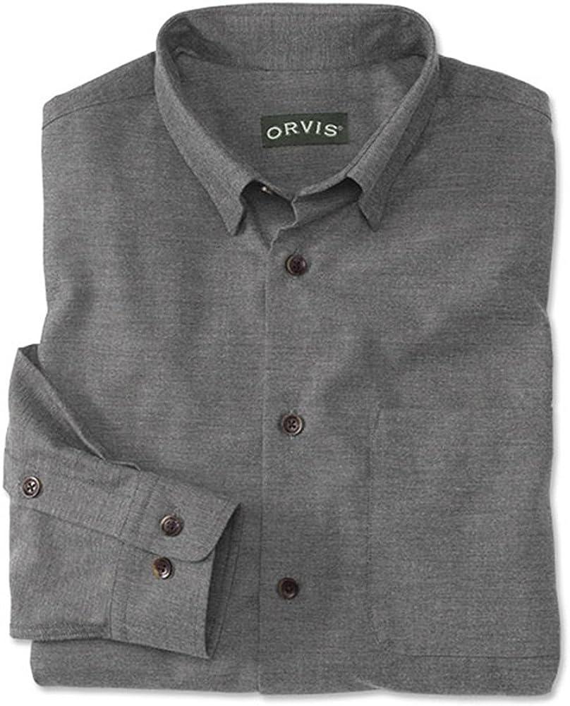 Orvis - Camisa de vestir - para hombre Gris gris oscuro ...