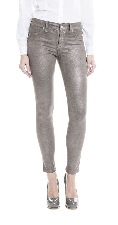 Level 99 Women's Janice Mid Rise Ultra Skinny Jeans, Bronze