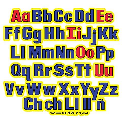 - Little Folk Visuals LFV22428 Upper & Lower Case Letters Flannel Boards