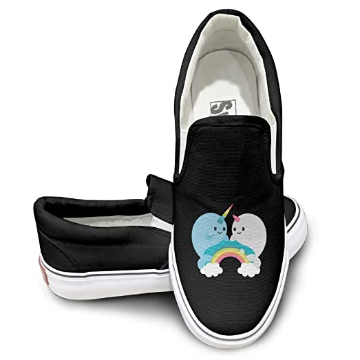 Rainbow Unicorns Mens Wowens Casual Loafers Classic Driving Boat Shoes