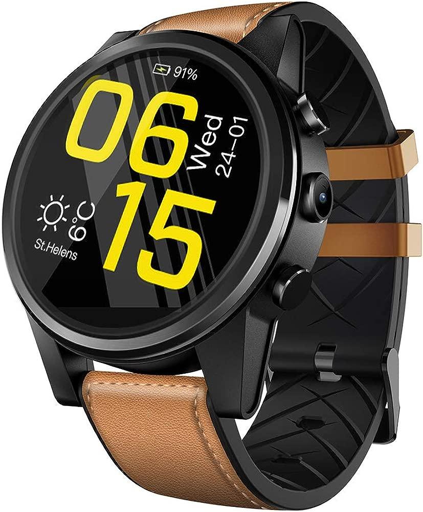 Zwbfu Zeblaze Thor 4 Pro 4G LTE Smart Watch Phone Android ...
